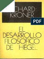 117518835 El Desarrollo Filosofico de Hegel