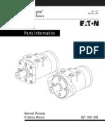 Eaton h Series Hydraulic Motor (Hose Reel)