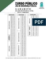 Gabarito Delegado Civil2014