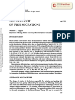 1977 the Ecology of Fish Migrations