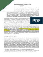 Articulaciones Fenomenológicas Del Juzgar en Arendt