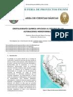 Informe Crista Alteraciones Kk