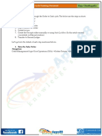 O2C - Oracle Order to Cash Life Cycle Training Document - Raju