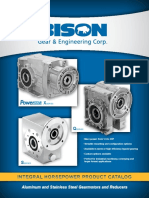BISON Integral Horsepower Product Catalog