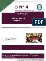 Servicios de Control Gubernamental