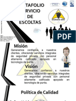 Brochure Escoltas