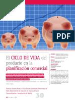 Artículo Ciclo de Vida Del Producto y Planeación Comercial