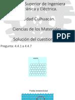 Ciencias de Los Materiales