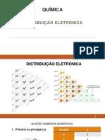 Quimica - Aula 2 - Distribuição Eletrônica