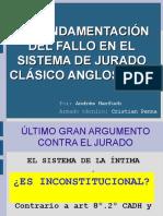 111013 EncuentroDefPubPenal DisertacionProcPenal FundamentosFalloSistJurado Harfuch