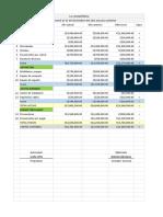 Balance Comparativo - Reporte