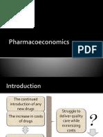 1. Pharmacoeconomics  1