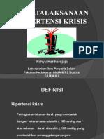 Penatalaksanaan hipertensi krisis.pptx