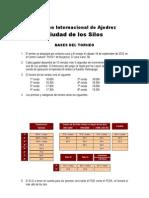 """Bases XX Open Internacional de Ajedrez """"Ciudad de los Silos"""" de Burjassot"""