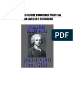 Rousseau, Jean Jacques - Discurso Sobre Economía Política