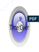 TIME OVER