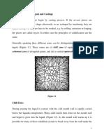 Grains Structure of Ingots