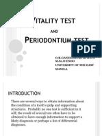 Vitality Test