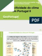 A Especificidade do clima em Port. II -15-16