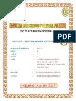 Responsabilidad en El Ejercicio de Su Funcion Notarial