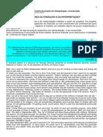 1. Desenvolvimento de Projeto Em Interpretação- A Transcrição