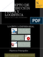 Concepto de Distribución Física y Logística