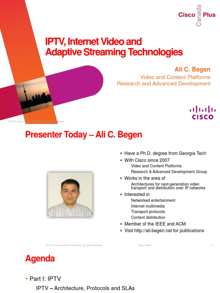 IPTV-Internet-Video-ABEGEN pdf | Iptv | Internet Protocols