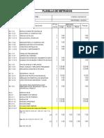 metrados costos y presupuestos