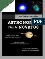 Manual del Astronomo Aficionado PDF