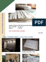 precio modelos de piedra artificial