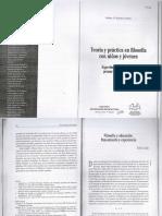 Gallo, S. - Filosofía y educación. Pensamiento y experiencia (2006).pdf