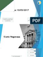 Clases derecho procesal