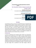 Informe Final. Jamon de Conejo