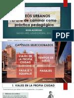 PASEOS URBANOS