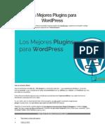 Los Mejores Plugins Para WordPress