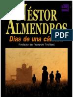 Días de una cámara - Néstor Almendros
