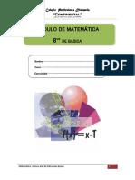 Modulo Contenidos Matematica 8º