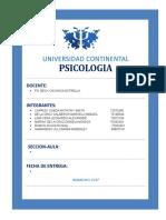 FORMATO Informe Escrito 2do Consolidado 2017- PsicoLOGIAS