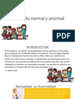 desarrollo normal y anormal original