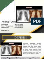 Kelas a Kelompok 10 Asbestosis