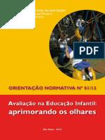 Avaliação-Curriculo Integrado Pref. SP