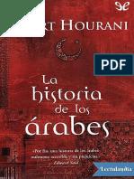 La Historia de Los Arabes - Albert Hourani