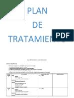 DR.quijano PLAN de TRATAMIENTO Duelo Patologico