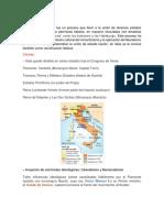 Unificación de Italia Trabajo de Historia