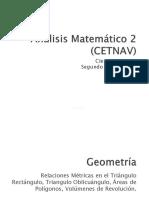 Análisis Matemático 2 Unidad 1