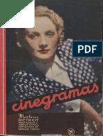 Cinegramas (Madrid) a1n2, 16-9-1934
