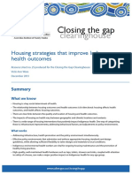 housing strategies that improve indigen     closing the gap clearinghouse aihw