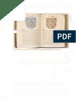 Códice, Manuscrito Pictórico, Facsímil, Trobes Linajes Reino Valencia