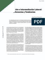 Tercerización e Intermediación Laboral; Diferencias y Tendencias - Jorge Toyama Miyagusuku