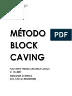 Método Block Caving